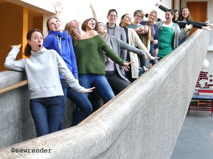 Gruppenfoto verrückt